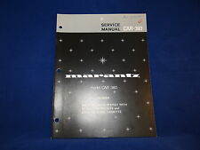 Marantz Model CAR-360 Service Manual