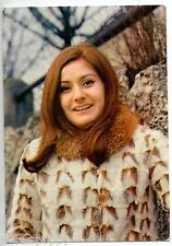 ROBERTA AMADEI Cartolina d'epoca 1960s Photo Music Cantante