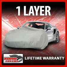 1 Layer Car Cover - Soft Breathable Dust Proof Sun UV Water Indoor Outdoor 1411