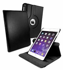 Piel 360° Rotatoria Soporte Giratorio Funda Smart Para Apple iPad 2 3 4 9.7""