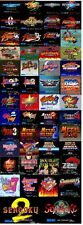 ES-SNK NEO GEO X CARD SET VOL1 50 GAMES FIRMWARE 3.70 NEW