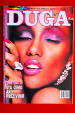 IMAN ON SEXY COVER 1991 VERY RARE EXYUG MAGAZINE DAVID BOWIE S WIFE
