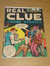 REAL CLUE CRIME STORIES VOL 3 #2 VG (4.0) HILLMAN COMICS APRIL 1948