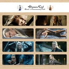 8pcs The Hobbit The Desolation of Smaug , Legolas Bookmark,The lord of