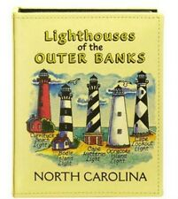 OUTER BANKS NORTH CAROLINA LIGHTHOUSES EMBOSSED PHOTO ALBUM 200 PHOTOS/ 4x6