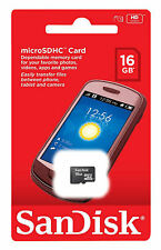 SanDisk Ultra 16GB Class 4 Micro SD SDHC 30MB/s TF Memory Card(Retail)✔✔ NEW