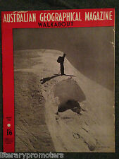 WALKABOUT MAGAZINE VOLUME 14 NUMBER 10 1948 Walk About Tea Tree Boats Swamp Army