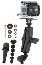 RAM Motorcycle Fork Stem Mount with GoPro® Hero Adapter