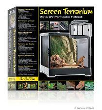 """Exo Terra Screen Terrarium - 45 x 45 x 45cm 18"""" x 18"""" x 18"""" PT2640"""