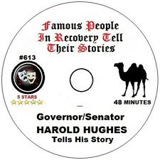 Alcoholics Anonymous AA Speaker Talk. Governor Harold Hughes tells his story