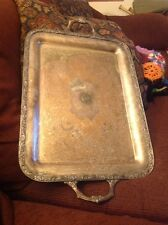 Vintage Southern Hardware Golf Assoc Wm Rogers Tray/trophy