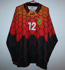Ukraine national team Goalkeeper Match Issue jersey 1997 #12 Suslov vs. Germany