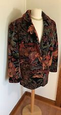 Donnybrook Brocade Coat Size Large  Horse Equestrian Fox Hunt  Vintage