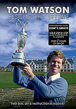 Tom Watson: Golf Lessons of a Lifetime DVD NEW