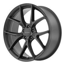 """20"""" KMC KM694 Wishbone Wheel Rim - Black 20x8.5 5x114.3 5x4.5 +38 KM69428512738"""