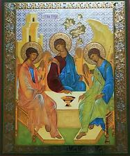 Troica Trinity Angel Religious Icon Religion Holy Andrey Rublev
