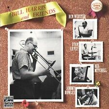Bill Harris and Friends by Jimmy Rowles/Ben Webster/Bill Harris *New CD*