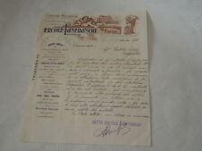 PAVIA-LETTERA COMMERCIALE DEL  17/09/1914-ERCOLE LANFRANCHI PAVIA-OFFICINE MECCA