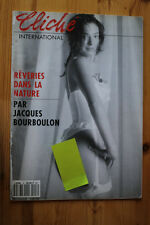 Magazine Photos Cliché Internationnal Jacques Bourboulon