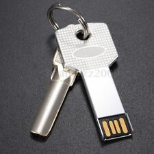 2in1 Key Model 32GB USB 2.0 Metal  Flash Memory Stick Pen Drive Storage Disk