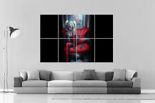 "Harley Quinn Batman ""You wanna play with me"" Wall Art Poster Grand format A0"