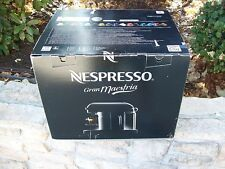 Nespresso machine Gran Maestria with box