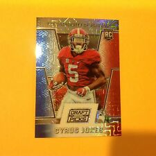 CYRUS JONES #241 Alabama RC 18/25 Made 2016 Panini Prizm Red White Blue Refracto