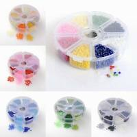 1box Mixed 12/0 8/0 6/0 Round Glass Seed Beads 2mm/3mm/4mm DIY Jewelry Findings