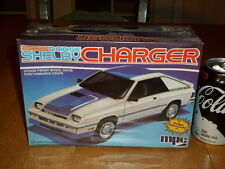 DODGE SHELBY CHARGER - Performance Coupe Car, Plastic Model Car Kit, Scale 1:25