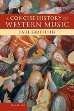 A Concise History of Western Music-ExLibrary