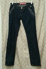 Apple Bottoms Stretch Blue Denim Jeans Womens Size 9/10