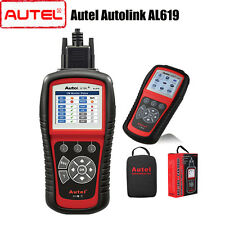 Autel Autolink AL619 OBD II Scanner SRS CAN ABS Airbag Code Reader Fault Tool
