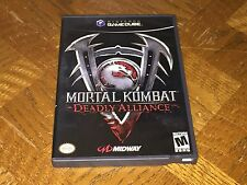 Mortal Kombat Deadly Alliance Nintendo Gamecube Wii Complete CIB