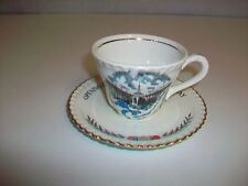 Vintage Cup & Saucer OPENING OF THE ST. LAWRENCE SEAWAY