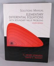 Elementary Differential Equations with Boundary Value Problems by C. H. Edwards