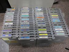 Lot of 62 Nintendo Nes Games Clean Labels All in Good Condition READ *FREE SHIP!