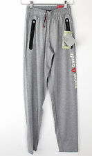 Reebok Mens Crossfit Speedwick Anti-Microbial Pants Z65035 Grey Extra Small XS