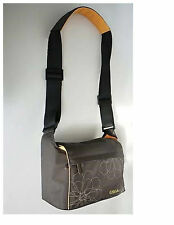 NEW Golla LYNNE G415 CAMERA CASE Shoulder Strap Base For Camera Brown Floral NWT