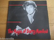 "THE MAGIC OF BARRY MANILOW 12"" LP / RECORD - STILETTO - SMM 109"