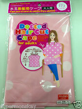 DAISO JAPAN DOTTED HAIR CUT CAPE FOR ADULT