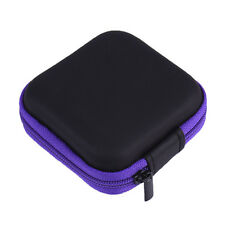 Small Pocket Phone Earphone EarBud Cable Storage Bag Case Hold Pouch SD TF Card