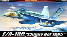 Academy 1/72 F/A-18C Hornet Chippy Ho Aircraft Plastic Model Kit 12505 NIB