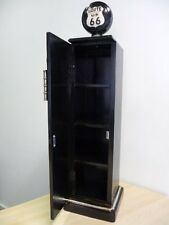 NEW point-home CD Cabinet Retro-Look Petrol Pump