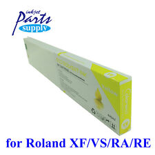 Factory Direct Yellow 440ml Eco Solvent Full Ink Cartridge for Roland XF/VS-640