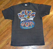 RaRe *1983 THE KINKS* vtg rock band concert tour t-shirt (L) 70s 80s Ray Davies