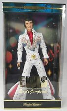 ELVIS PRESLEY DOLL WHITE EAGLE JUMPSUIT Mattel 2000 NRFB Timeless Treasures NIB