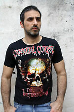 T-shirt Rock Mens Cannibal Corpse The Wretched Spawn Black Graphic Size S