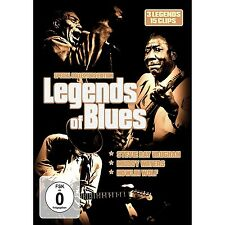 LEGENDS OF BLUES - MUDDY WATERS/STEVIE RAY VAUGHAN/HOWLING WOLF  DVD NEU