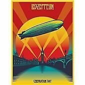Led Zeppelin - Celebration Day Live Recording 2CD + DVD Box Set 5.1 Audio on DVD