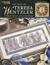 Best of Teresa Wentzler Christmas Collection Counted Cross Stitch Book NEW
